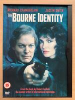 Bourne Identity DVD 1988 Robert Ludlum TV Mini Series w/ Richard Chamberlain