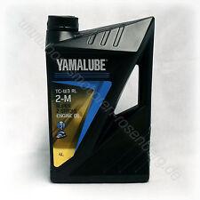 YAMALUBE 2-M TC-W3 RL | 2 Takt Motoröl | 4 Liter Kanister | Außenbordmotor