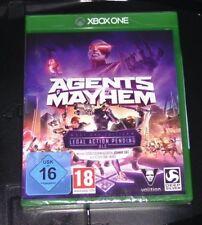 Agents of Mayhem Day One Edition pour XBOX ONE livraison rapide NOUVEAU & NEUF dans sa boîte