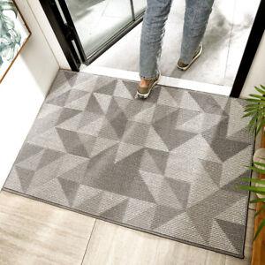 Non-Slip Doormat Durable Home Kitchen Garden Stairs Floor Door Mat Washable B