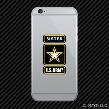 Army Sister Cell Phone Sticker Mobile Ranger U.S. US U S