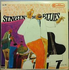 COUNT BASIE & FRIENDS singin the blues LP VG+ CAL 588 DSM David Stone Martin Art