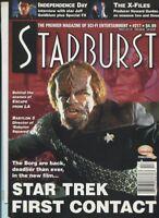 Starburst #217 Escape From LA Babylon 5 Star Trek  First Contact   unread MBX110
