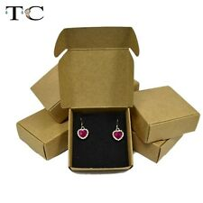 1PC Jewelry Storage Paper Box Case for Ring Earrings Necklace Cardboard Holder