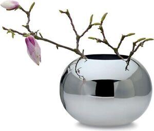 PHILIPPI DESIGN 'ORB' 22cm Stainless Steel Vase bowl fruit wedding table candle