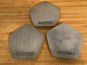 88-93 Dodge Daytona Shelby 30393-878-1 OEM Wheel Center Rim Cap Hub Cover Set 3