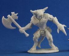 BRONZEHEART MINOTAUR HERO - Reaper Miniatures Dark Heaven Bones - 77255