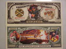 Pirates Million Dollar Bill (2/$1.55) Free Shipping