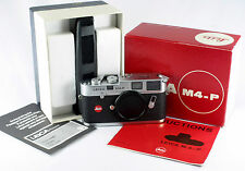 Leica M 4-P, #1643524, in original box, strap, Leica Passport, Instructions