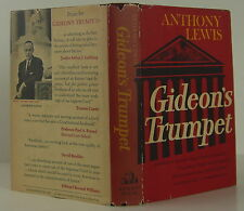 ANTHONY LEWIS Gideon's Trumpet FIRST EDITION