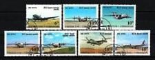 Avions Ouzbékistan (24) série complète de 7 timbres oblitérés