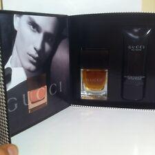 Gucci pour Homme Set Eau de Toilette 50ml 1.7oz + Shampoo 50ml 1.7oz new rare