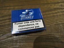 ancien paquet de cigarette GITANES MAIS FILTRE pour collection uniquement