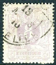 BELGIUM-1869 8c Lilac Sg 49 FINE USED possibly thinned V18155