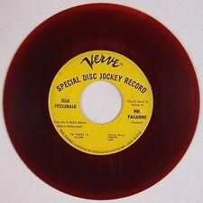 ELLA FITZGERALD: Mr. Paganini USA VERVE DJ Promo Jazz Soul 45 Hear