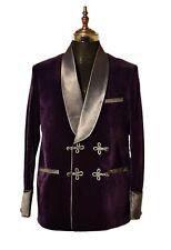 Men  Purple Smoking Jacket Elegant Luxury Stylish Designer Party Wear Blazers