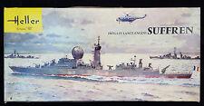 Heller SUFFREN French Frigate WWII Small Cruiser Battleship 1/400 Model Kit L860