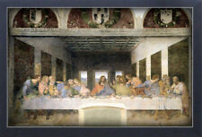 THE LAST SUPPER LEONARDO DA VINCI 13x19 FRAMED GELCOAT POSTER RENAISSANCE ARTIST