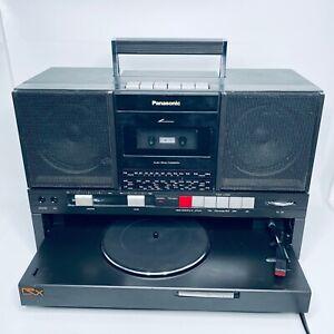 Panasonic SG-J500L Boombox Radio Cassette Vinyl Retro for Spares or repair