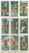 Breast Stroke Swimming Pool Water Sport Lot of ( 85+ Y/O Ad Trade Cards 6