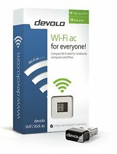 DEVOLO 9707 WIFI STICK AC FOR FAST, STABLE & RELIABLE CONNECT SPEEDS TO 433 MBPS