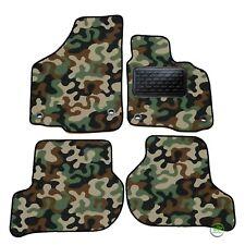 Camo - Army floor car mats fits Skoda Octavia mk2 2001-2009 4pcs set Tailored