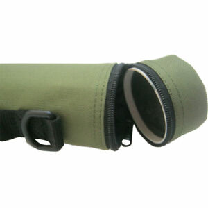Aventik Hard Cordura Fishing Rod Tube Rod Case with Carry Straps