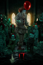 IT rare Pennywise limited edition movie poster screen print *SOLD OUT*