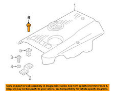 AUDI OEM 97-05 A4 Quattro Engine Appearance Cover-Upper Cover Pin N90642001