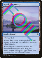 FOIL Mystic Sanctuary Magic Throne of Eldraine ELD MTG NM FREE SHIPPING
