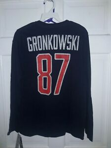 Rob Gronkowski New England Patriots football Gronk jersey T-Shirt  Youth L 14/16
