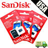 SanDisk 8GB 16GB 32GB Micro SD HC Class 4 TF Flash SDHC Memory Card w/ Adapter