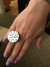 John Hardy Retired Large Round Kali Ring in Sterling Silver -Stunning !!!