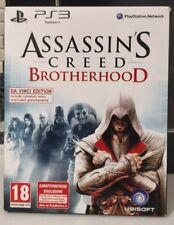 ASSASSIN'S CREED BROTHERHOOD DA VINCI EDITION - PS3 - ITALIANO OTTIMO STATO ITA