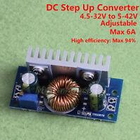 DC-DC Boost Step up Converter 5-32V to 5V-42V 9V 12V 24V 36V Power Supply Module