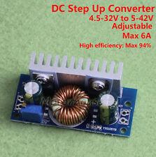 DC-DC 6A Step Up Voltage Regulator Boost Converter 5V 9V 12v 19v 24v 36v Module