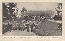 URUGUAY EXPLORADORES DE LA AGUADA EN LOS JARDINES DE LA DELEGACION ARGENTINA