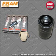 SERVICE KIT VW GOLF MK6 2.0 GTI CCZB FRAM OIL FILTER PLUGS (2009-2013)