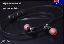 Wireless Bluetooth Headphones Earphones V4.2 Magnetic Noise Cancelling Sport