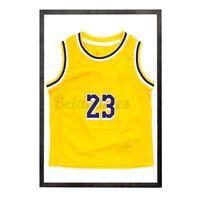 30'' Wooden Jersey Display Frame Case Shadow Box Football Baseball Basketball