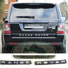 LAND ROVER REAR DOOR TAIL GATE DECAL BADGE TITAN ¨RANGE ROVER¨ SPORT 10-13 OEM
