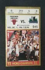 Jordan Ticket stub 1996 Game 9
