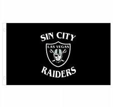 Raiders Flag Sin City Las Vegas 3x5ft Fast Ship Usa Seller