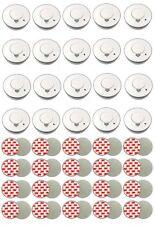 20x Rauchmelder Set mit Magnethalter & Batterie | Feuermelder Brandmelder Magnet