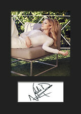 NATALIE DORMER #1 A5 Signed Mounted Photo Print - FREE DELIVERY