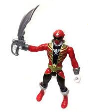 """Grande 10"""" Megaforce Power Rangers Ranger Rojo Juguete Figura De Acción-Efectos De Sonido"""