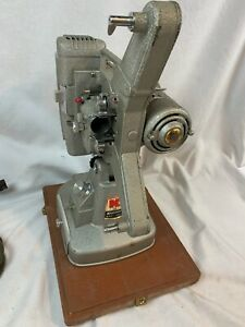 Vintage WORKS Clean Keystone 109D 8mm Film Projector & Film Splicer & Case c888