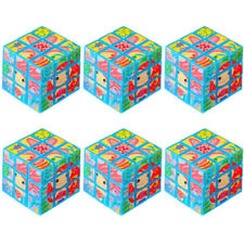 MERMAID PUZZLE CUBES (6) ~ Birthday Party Supplies Favors Toys Ocean Sea Beach