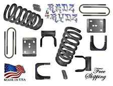 "2015-2017 Ford F150 3""-5"" Drop Lowering Springs Axle Flip Shackles Lowering Kit"