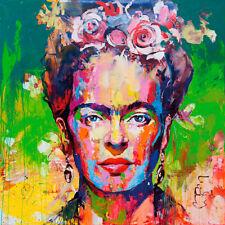 FRIDA KAHLO WALL ART PRINT STRETCHED CANVAS PRINTS  ABSTRACT ARTWORK  DECOR
